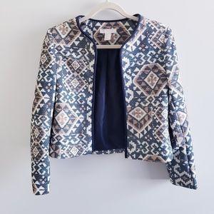 H&M Tapestry Blazer